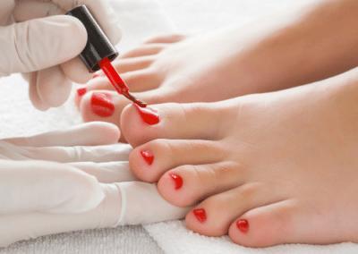 Esmalte permanente pies
